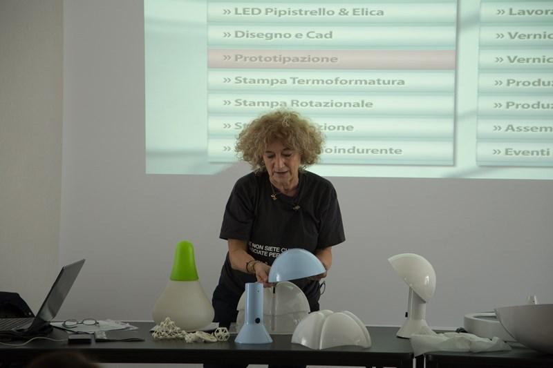 DALL'IDEA AL PRODOTTO, COME SI FA: Emiliana Martinelli parla agli studenti di LABA Firenze