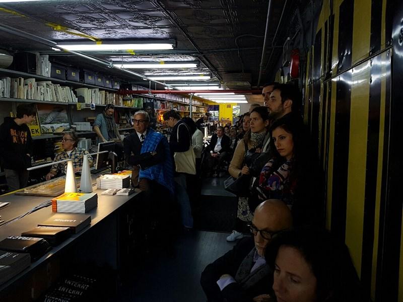 Martinelli Luce a New York in occasione della design week. Un incontro tra design e architettura allo Studio LOT- EK
