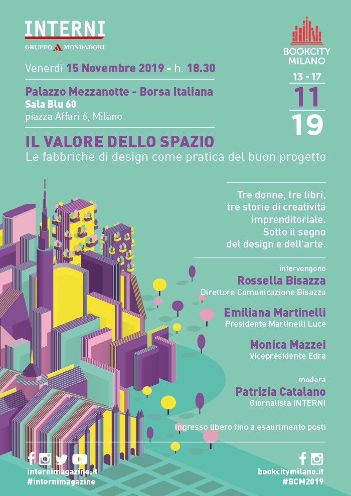 The value of the space. A speech in Milan with Emiliana Martinelli.