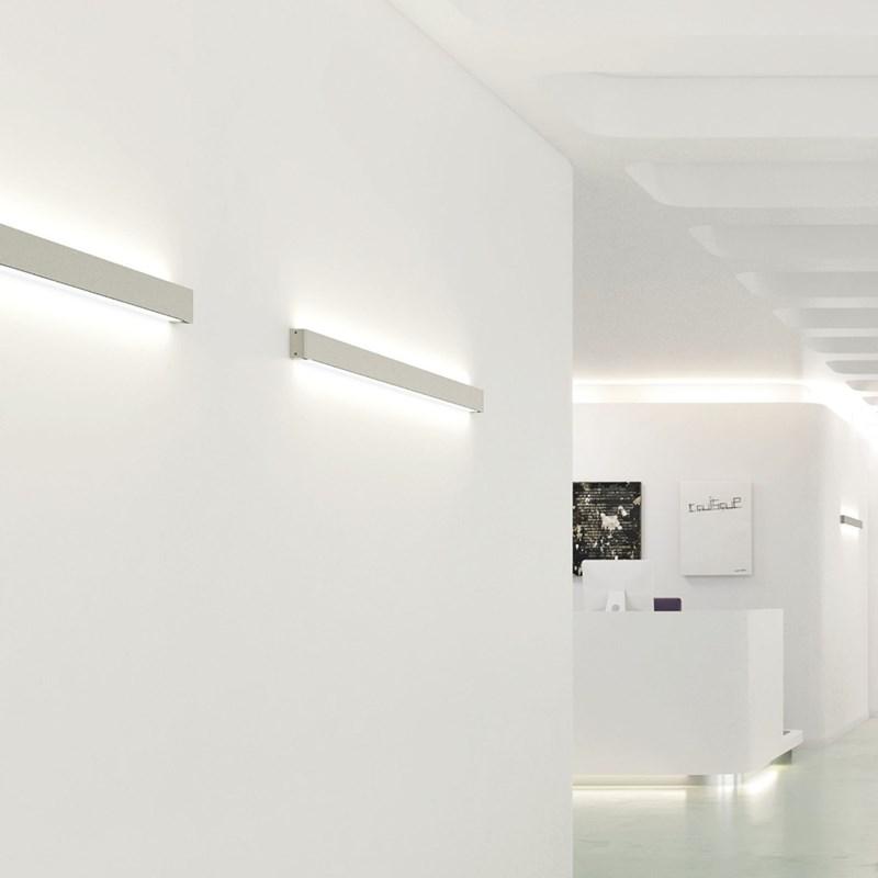 40074.3 Hush corpo lampada senza pannello fonoassorbente da parete
