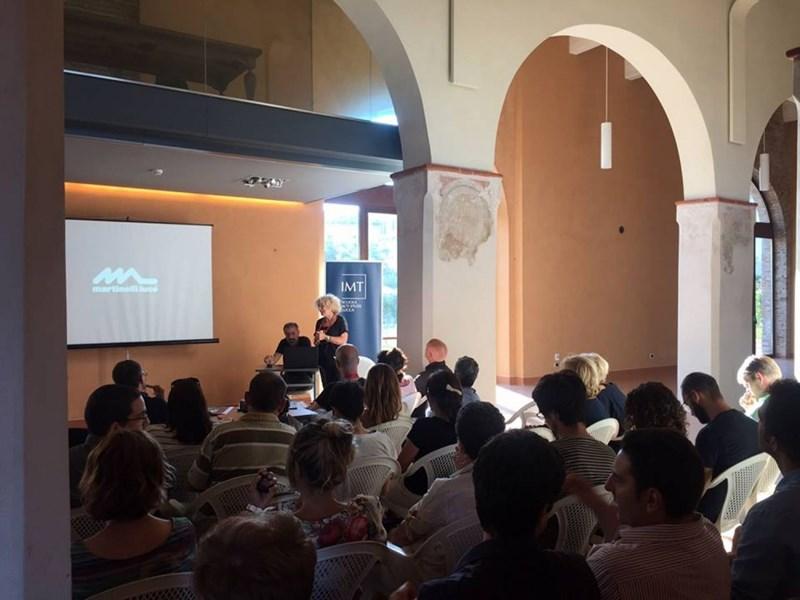 Emiliana Martinelli ospite dell'Aperitivo delle Idee