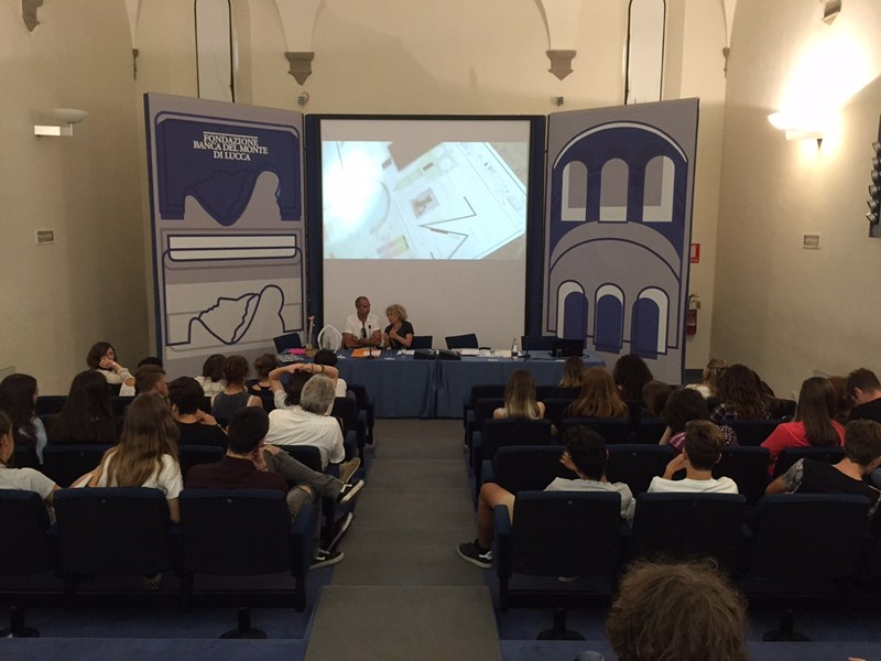Una luce per te: la remise de prix à la Fondazione Banca del Monte à Lucca