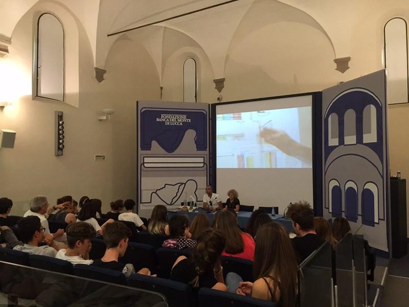 Una luce per te: la premiazione alla Fondazione Banca del Monte di Lucca