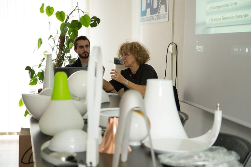 DALL'IDEA AL PRODOTTO , COME SI FA: Emiliana Martinelli parle aux étudiants de LABA Firenze