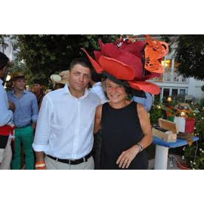 The challenge shots of hat of Emiliana Martinelli at LadiesDay in Forte dei Marmi