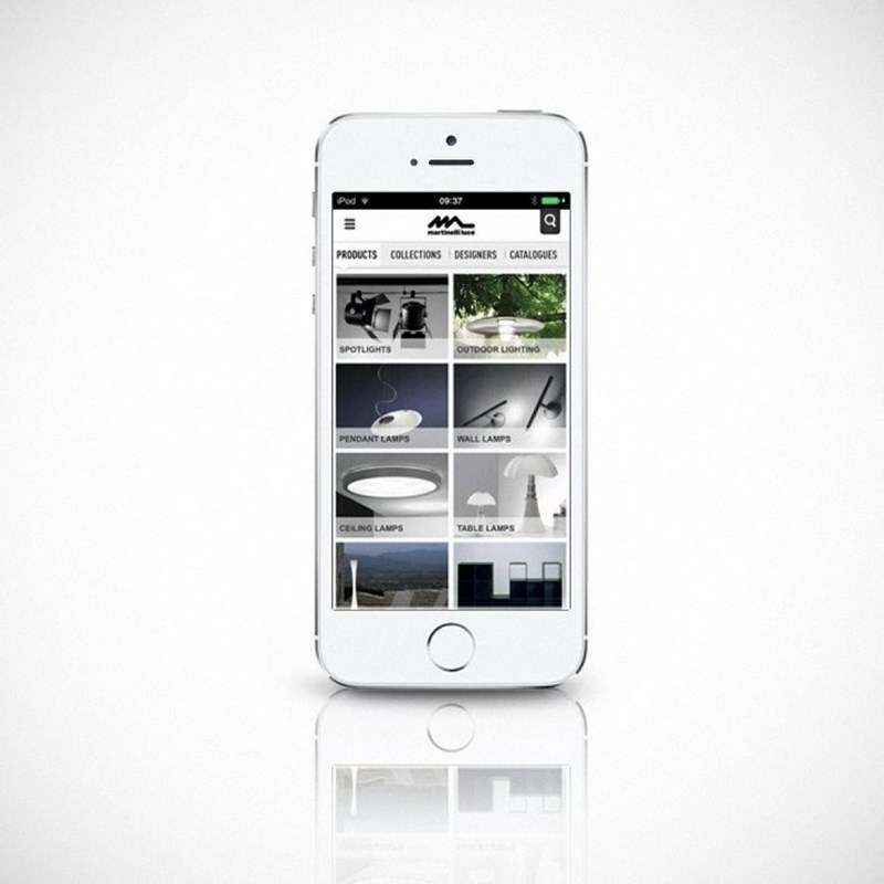 The new Martinelli Luce app!