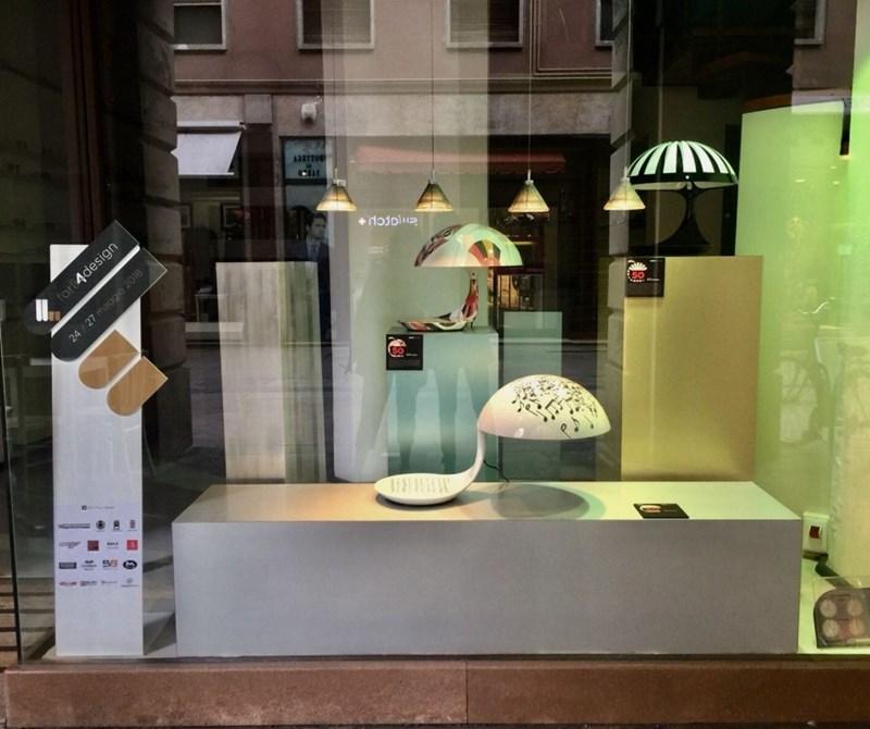 Cobra Texture exposée à Forlì Four Design