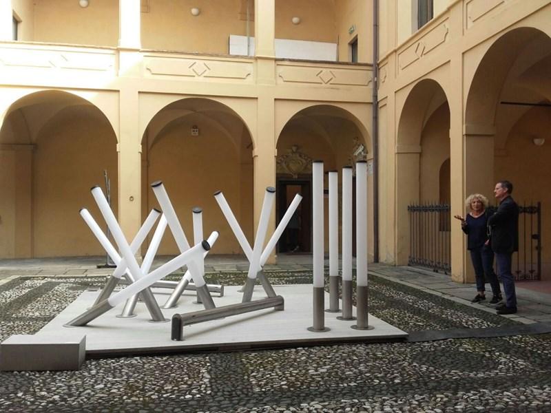 Emiliana Martinelli présente son installation à INTERNI OPEN BORDERS PIACENZA