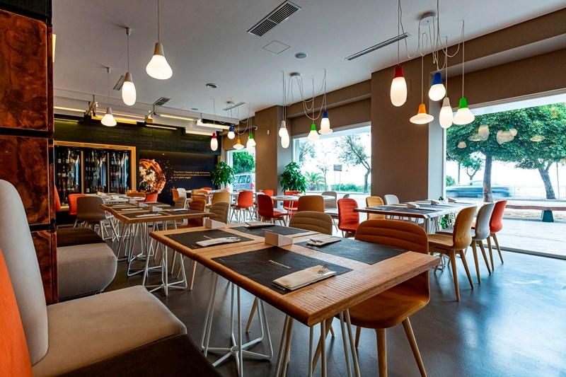 GRANAMMARE - restaurant, lighting project Michele Citro.